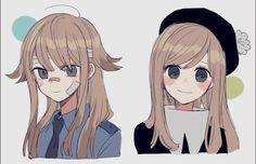 Kawaii Art, Kawaii Anime Girl, Anime Art Girl, Cute Art Styles, Cartoon Art Styles, Cute Anime Character, Character Art, Dandere Anime, Anime Best Friends