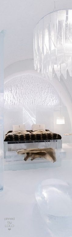 Why not go all the way when planning your vacation in Iceland, and book some nights at an ice hotel? It is a unique experience to sleep in a room made of ice, and don't worry, you won't be cold. You are warmed up by hot drinks and reindeer fur. The decorations are beautiful, and the hotel are build up year after year. Imagine going to sleep there after a nice day in the snow, seeing northern lights, chilling in a hot tub and getting warm in a sauna. Just perfect for winter luxury.