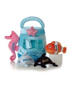 'My Aquarium' Sea Life Plush Toy Set