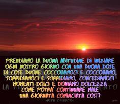 Buona Domenica by Metamorphosya - La filosofia del cambiamento  #Metamorphosya #buongiorno #sorridere #dolcezza #RitaCalarco #amore #lafilosofiadelcambiamento #ottimismo