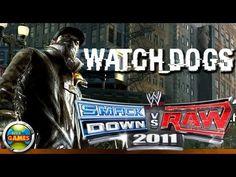 Watch Dogs in WWE SmackDown vs RAW 2011 - CAW