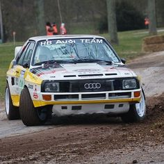Audi Quattro Sport     WRC Rally School @ http://www.globalracingschools.com