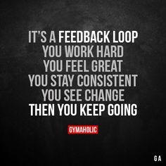 It's A Feedback Loop