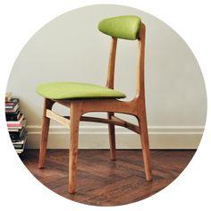 Krzesło tapicerowane TYP 200-190, Rajmund Teofil Hałas, 1963.