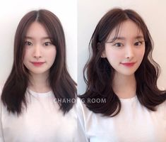 • 3) Hair만으로도 다른사람이~? 헤어스타일 전/후 : 네이버 블로그 Korean Long Hair, Long Hair Styles, Hairstyles, Street, Hair Cuts, Long Hair Hairdos, Hair Makeup, Hairdos, Roads