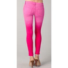 DIY ombre jeans