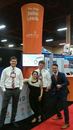 Day 1 for the Landvoice Dream Team at R4 in Las Vegas! Very excited to be a sponsor of this year's #remaxR4 ! #REMAXAbove ! Visit us at booth #445 to learn about our show specials and how we can help you to get an additional 3-5 listing a month! — with Rio Branham, Tyler Hofheins, Geeta Fyffe, and Jordan Spencer at Mandalay Bay Convention Center, Las Vegas.