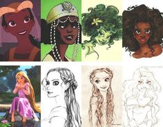 What Disney characters could have looked like