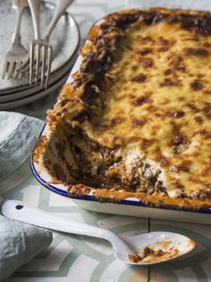'The Boss' Lasagne. This lasagne deserves its Mafioso name, because it leaves all other lasagnes for dead. (See what I did there?)This is a generous recipe, so great for serving a crowd. You can find this recipe in my book, Everyday Delicious - buy it now by clicking on the picture (New Zealand only).