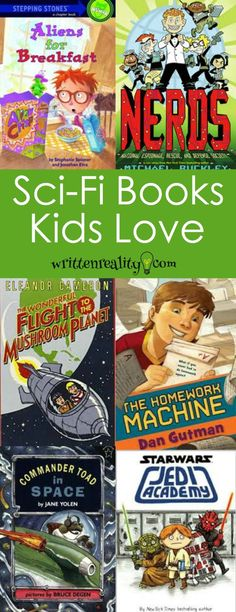 sci-fi kid books These Science Fiction books for young readers are filled with out of this world adventure to get kids excited about reading.
