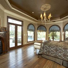 Ceiling Color Ideas two story panels with loops on finials. | custom draperies | pinterest