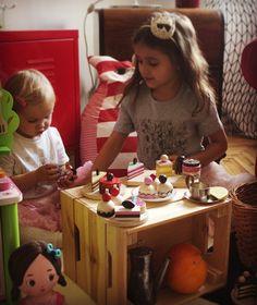 Bajkajlaj sweet toys Handmade wooden cake