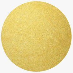 Esprit Yellow Rug Modern Rugs Uk Circle