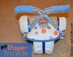 DIY Diaper Tricycle
