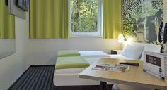 Zweibettzimmer im B&B Hotel Karlsruhe