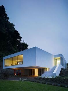 Stairs. #white box. #modern architecture