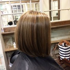 Bob haircut styles highlight lowlight fall hair color