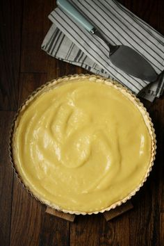 Lemon Curd Tart with