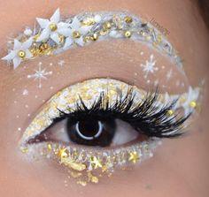 White & Gold winter wonderland using Jeffree Star Cosmetics Velour Liquid Lipstick in Drug Lord
