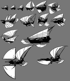 Airship thumbs by FeloniusMonk.deviantart.com on @DeviantArt