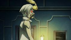 Allen's headbutt part II | Allen Walker (アレン・ウォーカー), Cross Marian (クロス・マリアン) & Timcanpy (ティムキャンピー) |  Baka Deshi (Idiot Apperentice) & Baka Shishou (Stupid Master) | D.Gray-man (ディー・グレイマン), D.Grey-man, DGM