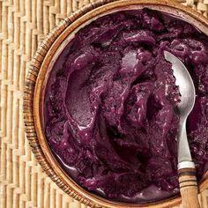 (26) Tumblr - Açaí Acai Bar, Smoothie Bowl, Smoothies, Tumblr Fruit, Cupuacu, Purple Fruit, Vegan Recipes, Cooking Recipes, Puddings