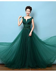 Buy A Line Plus Sizes Prom Dresses line at Low Cost from Prom