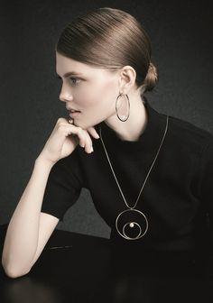Pendants – NASZYJNIK NA ŁAŃCUSZKU Z PERŁĄ DZ43 – a unique product by Ditta-Zimmermann-jewellery on DaWanda