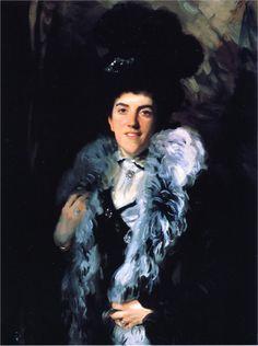 Mrs. John William Crombie (Minna Watson), 1898  John Singer Sargent