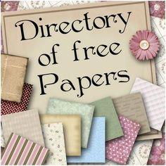 Free scrapbook paper. Great website