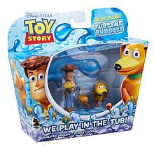 Toy Story Color Splash Buddies Action Figure 2-Pack - Walking Woody and Slinky Dog