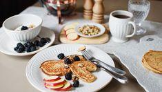 Recette de pancakes santé pour un brunch réussi...