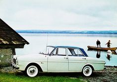 1963 Ford Taunus 12M 4-Door Sedan (Germany) - consider what Ford was building here that year.