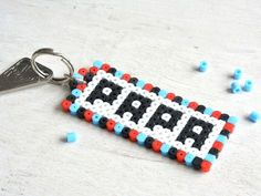 Diy for Father's Day !, # Diy for Father's Day! Pearler Beads, Fuse Beads, Diy For Kids, Crafts For Kids, Diy Gifts For Dad, Dad Gifts, Iron Beads, Father's Day Diy, Fathers Day Crafts