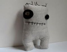 Old sock and lost button monster.