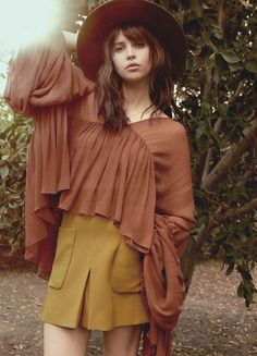 Felicity Jones InStyle UK March 2015