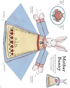 Húsvéti kézműves ötletek - kossuthsuli.lapunk.hu mother bunny craft template