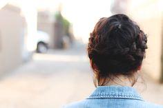 crown braid hair tutorial #clothedmuch