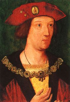 Arthur Tudor Prince of Wales c 1500. Older brother of Henry VIII, he died before he could become king. He was also the first husband of Katherine of Aragon.