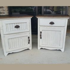Nightstands by Big Fish Trading Company