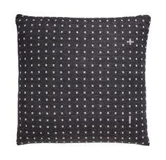 Pillow A36 - 45×45 cm Dark Grey Organic Pure Organic Wool