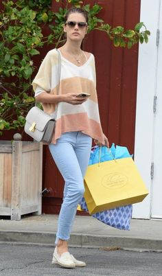 Alessandra Ambrosio's jeans of choice? Mother. See 11 other celeb favorites by clicking