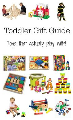 Got a toddler in the house? Here is a gift guide for the best toddler toys that actually get played with!