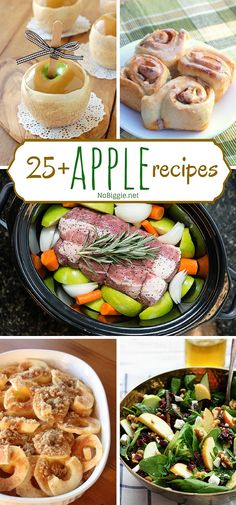 25+apple recipes - N