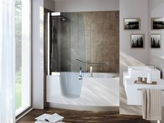 Vasca Trasformata In Doccia.8 Best Vasca Da Bagno Doccia Images In 2018 Bathtub Shower Shower