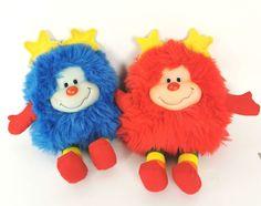 Rainbow Brite Blue Red Sprite Doll 10 in Plush Vintage Hallmark Mattel Best Prices Vintage Toys, Etsy Vintage, Betty And Veronica, Sacred Symbols, Mattel Dolls, Rainbow Brite, Needlepoint Kits, Counted Cross Stitch Kits, Plush Dolls