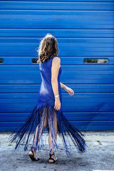 Proenza Schouler fringe dress