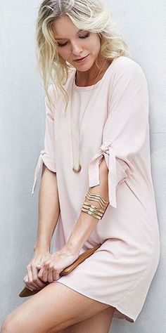 #beginningboutique #label #outfits |  Little Pink Dress