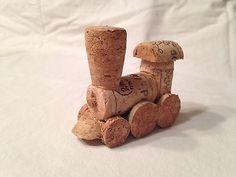 Model Wine Cork Train Handmade in Toys & Hobbies, Model Railroads & Trains, Other Model Railroads & Trains | eBay