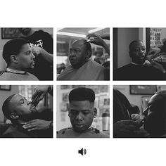 Check out TAPERED THRONE by Brandon Tauszik. The first ever GIF-based visual essay that paints an intimate portrait of Oakland's Black barbers. Project essay by Quincy T. Mills, PhD, Vassar College Professor of Africana Studies. Motion Photography, Photography Editing, Life Photography, Black Barber Shops, Hair Salon Names, Barber Haircuts, Animated Gifs, Social Aspects, Beauty Salon Interior